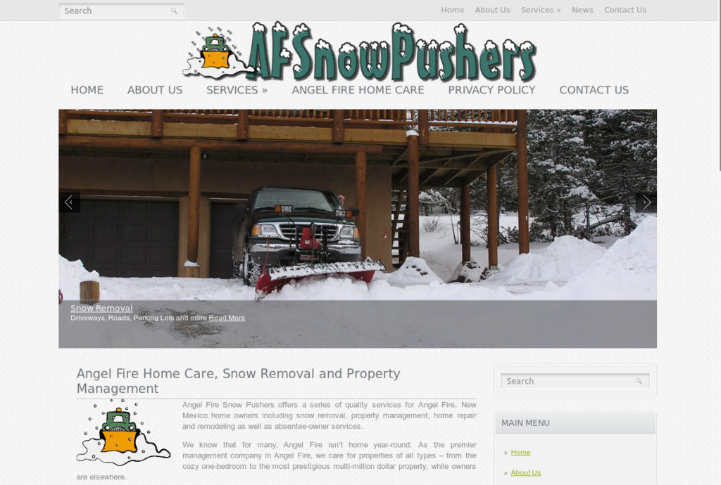 Angel Fire Snowpushers Property Management