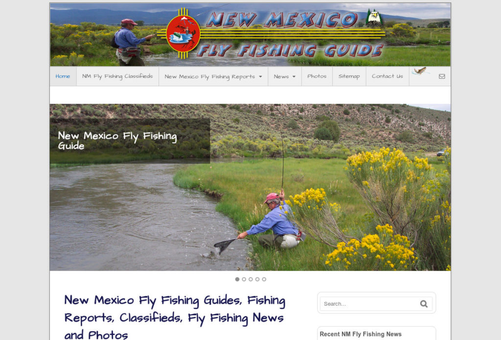 New Mexico Fly Fsihing Guide